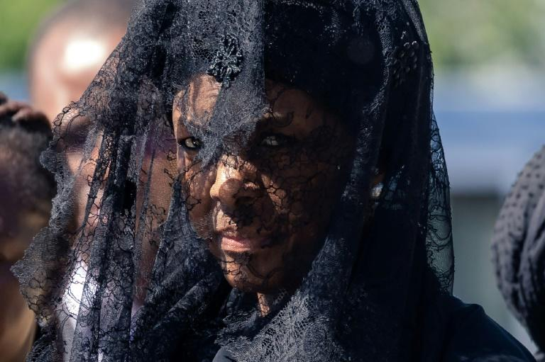 His widow Grace Mugabe was among those who decided on his final resting place, in accordance with his wishes, said the family (AFP Photo/Jekesai NJIKIZANA)