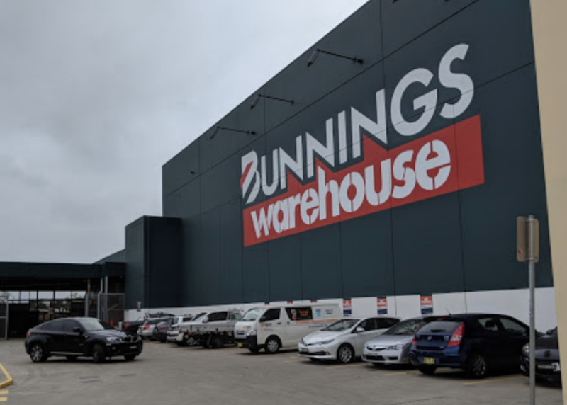 Bunnings could shut it's doors if the government orders all retailers to close. Source: Google Maps