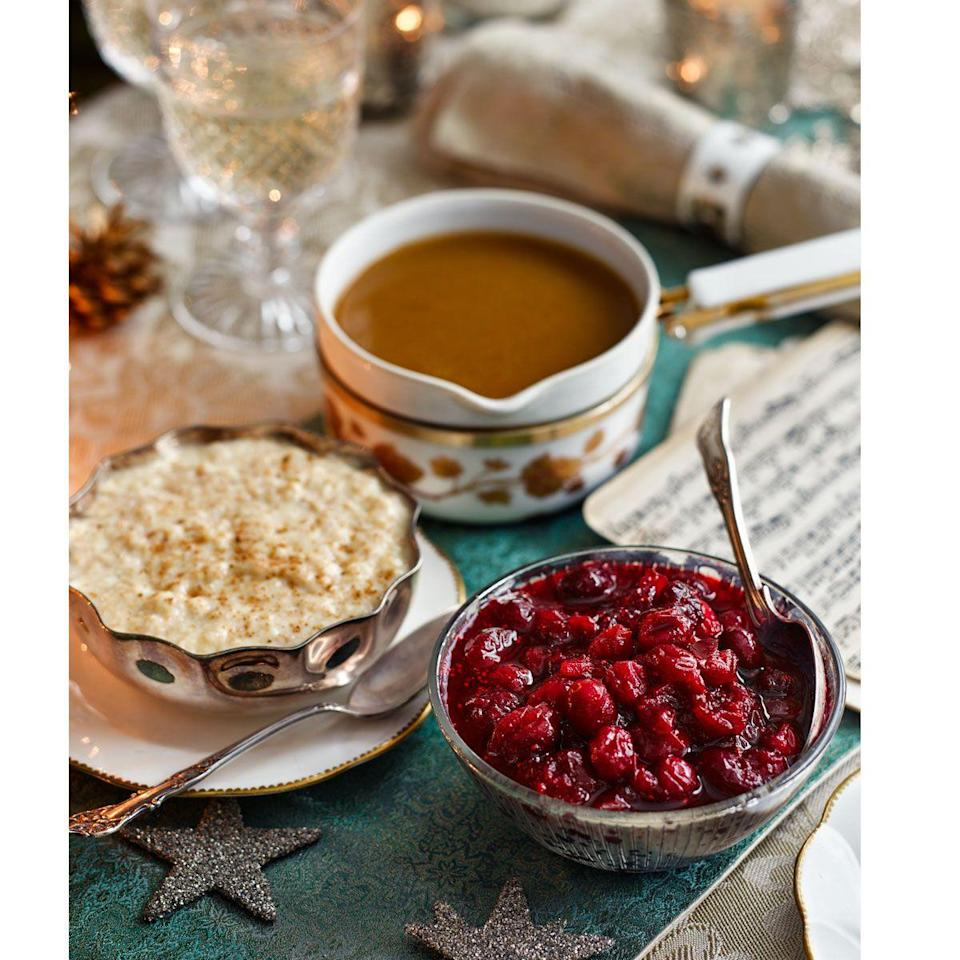"<p>If you are not a fan of cardamom, replace it with a broken cinnamon stick.</p><p><strong>Recipe: <a href=""https://www.goodhousekeeping.com/uk/food/recipes/a536025/spiced-cranberry-sauce/"" rel=""nofollow noopener"" target=""_blank"" data-ylk=""slk:Spiced cranberry sauce"" class=""link rapid-noclick-resp"">Spiced cranberry sauce</a></strong></p>"