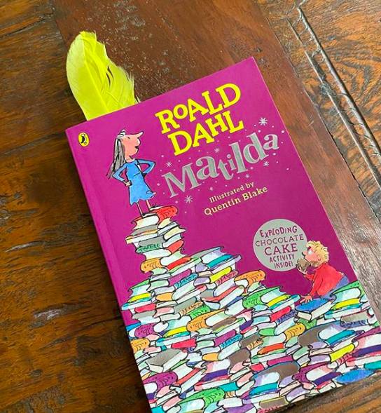 Twinkle Khanna has been reading this classic, <strong>Matilda by Roald Dahl </strong>as research for her new book.