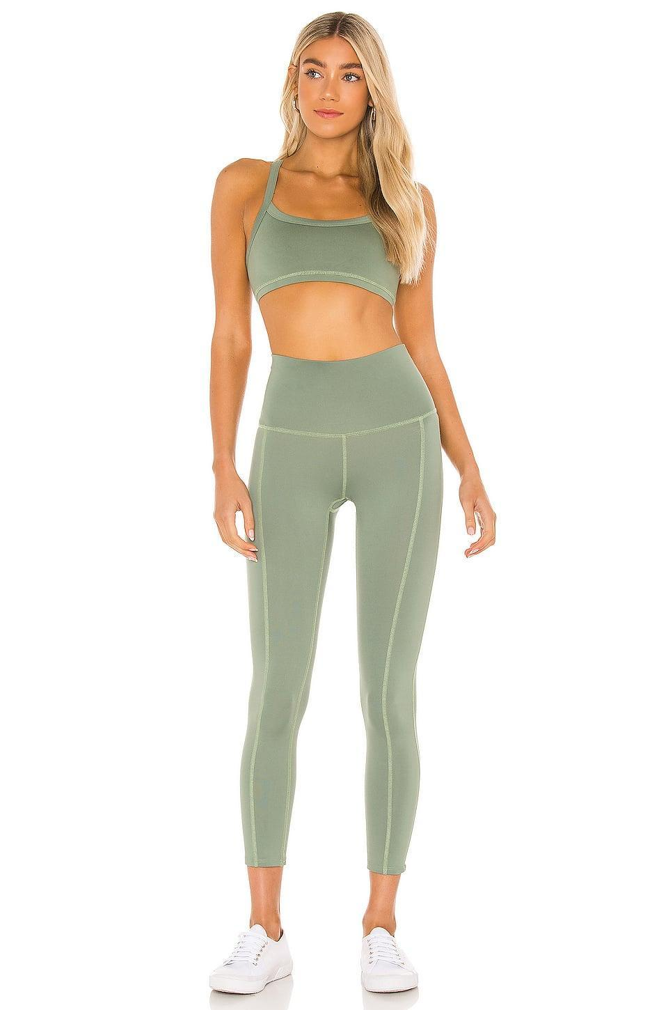 <p>Gift them this cute matching <span>Morgan Stewart Sport Leggings</span> ($98) and <span>Sports Bra</span> ($78).</p>