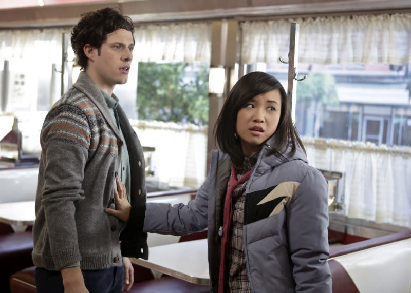 """Dangerous Territory"" -- Kyle Harris as Seth and Ellen Wong as Mouse"