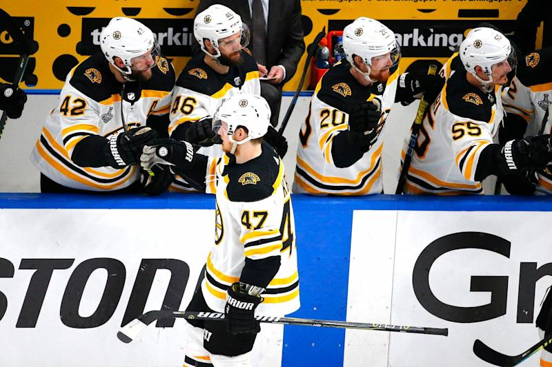 Bruins power play ideal  in historically efficient Stanley Cup Final