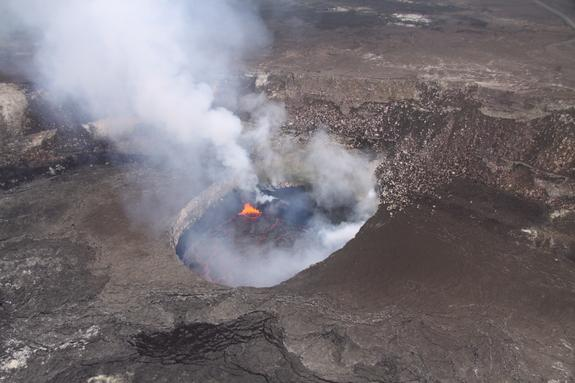 Mighty Hawaiian Volcano's Blowout Turns 5