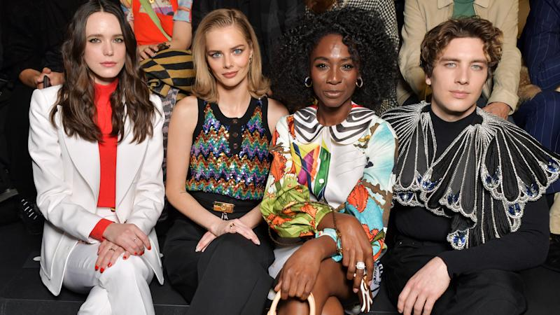 Front Row at the Fall 2020 Louis Vuitton Show Was the Perfect End to PFW