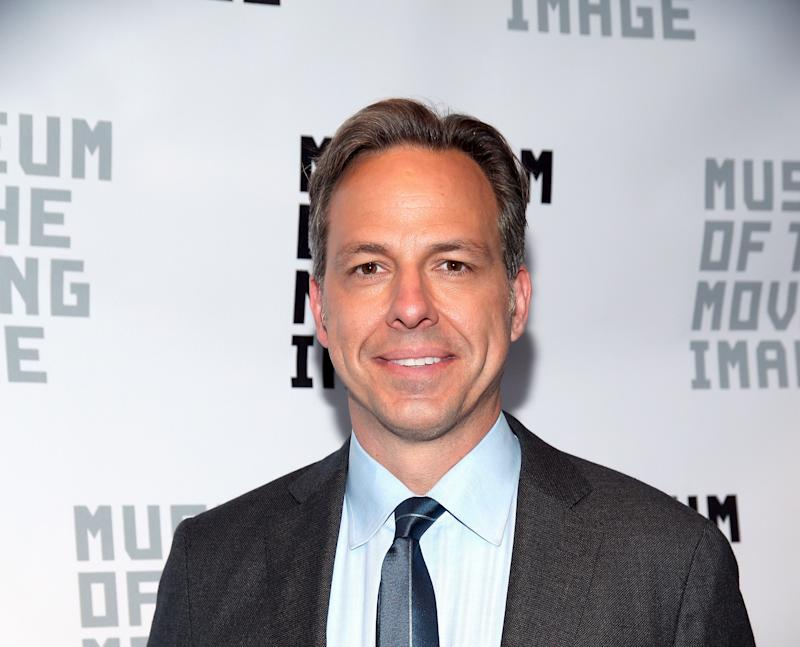 Honestly, Tapper could probably rock a witch's hat. (Paul Zimmerman via Getty Images)