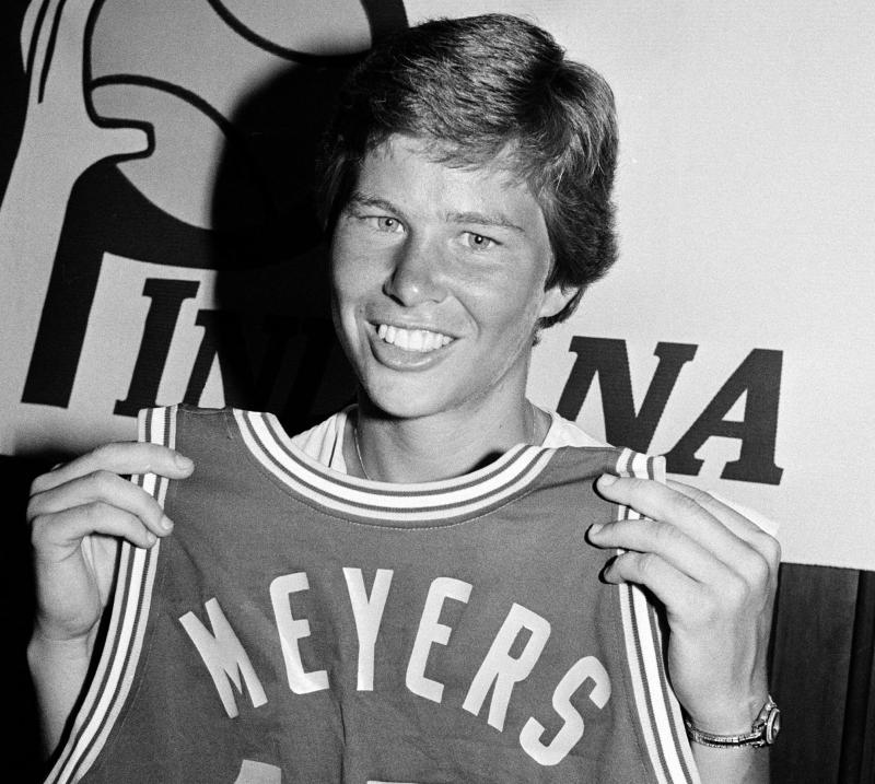 Basketball player Ann Meyers is seen, Sept. 5, 1979. (AP Photo/Reed Saxon)