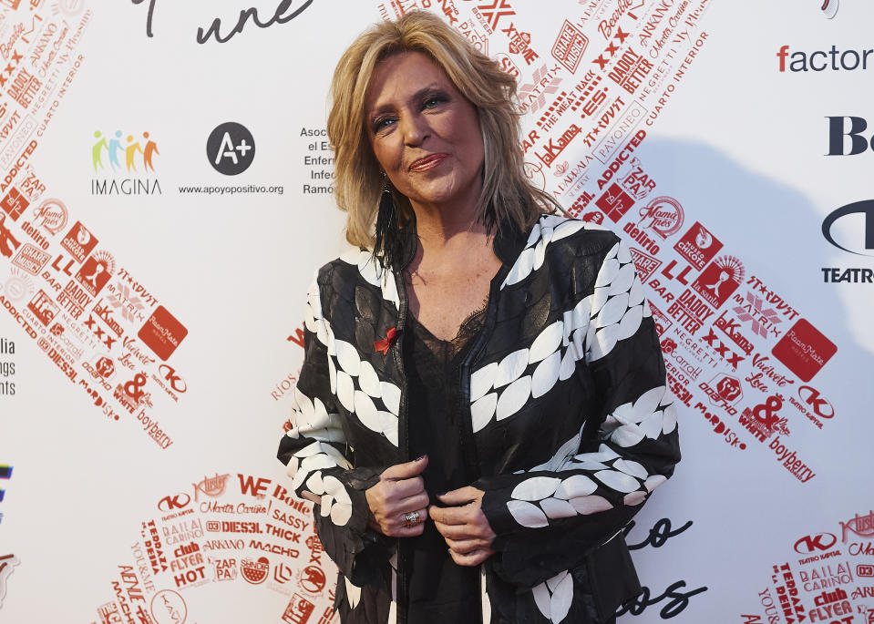MADRID, SPAIN - DECEMBER 01: Spanish journalist Lydia Lozano attends photocall of 'El Lazo Que Nos Une' on December 01, 2019 in Madrid, Spain. (Photo by Borja B. Hojas/Getty Images)