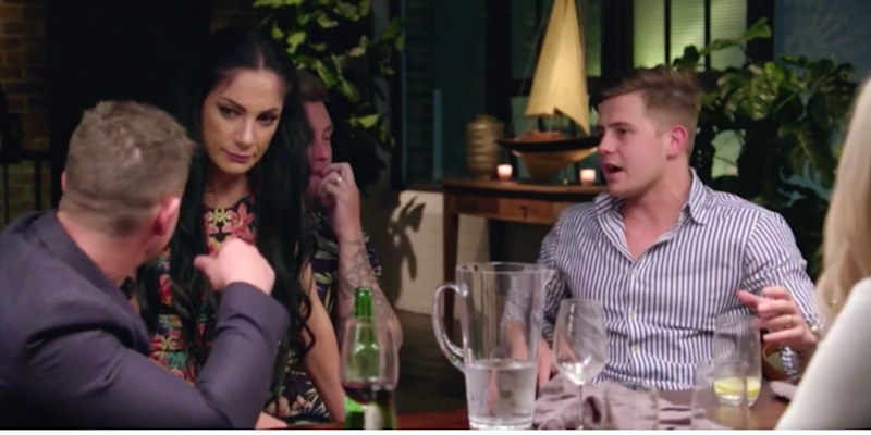 MAFS Vanessa appears on husband's lap