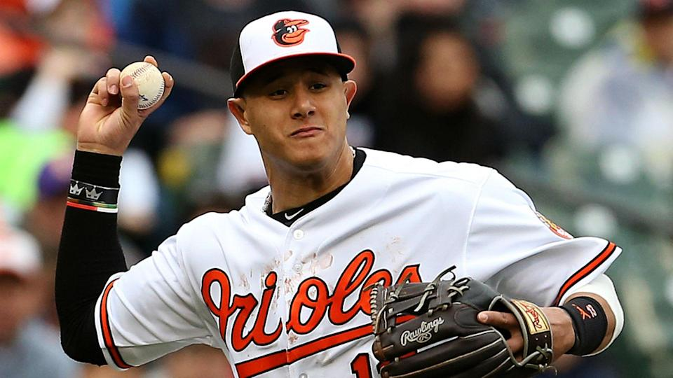 Manny Machado now finds himself at the center of trade talks with plenty of interest. (AP)