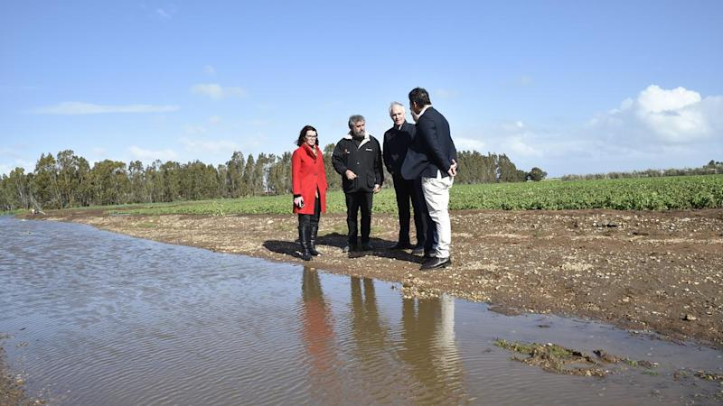Flooded SA farmers await financial aid