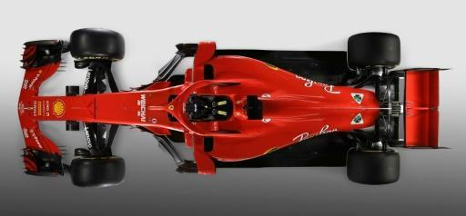 <p>Drivers at ease with their halos as Ferrari unveil sleek new model</p>