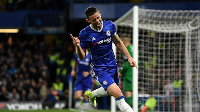 The Blues defender has been a useful source of goals for Antonio Conte's side this season, and throughout his time on a Premier League stage