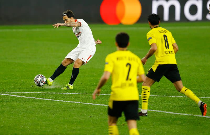 Champions League - Round of 16 First Leg - Sevilla v Borussia Dortmund