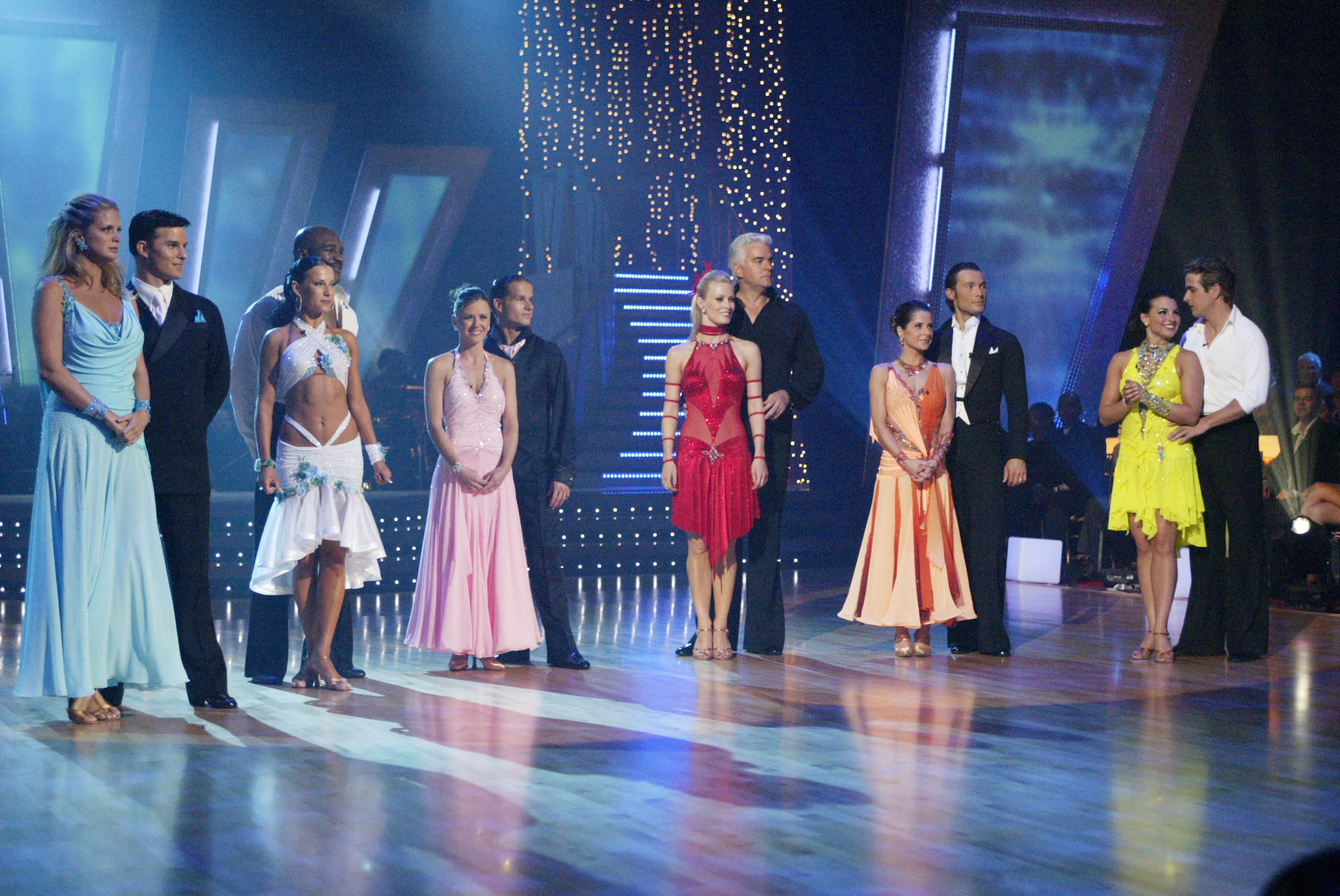 Season 1 cast of Dancing With the Stars - (ABC/ADAM LARKEY)