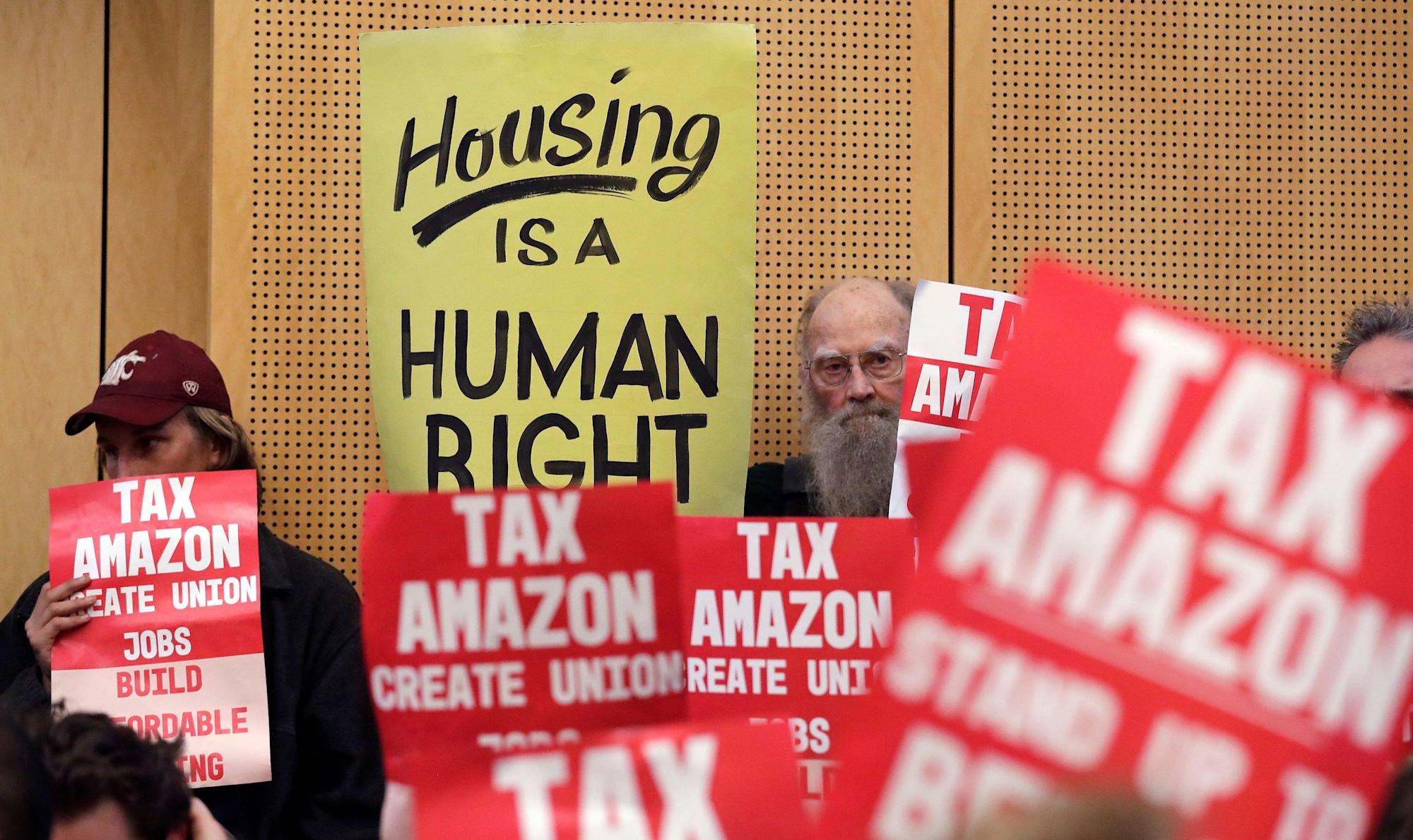 Seattle officials tell New York to act against Amazon before it's too late
