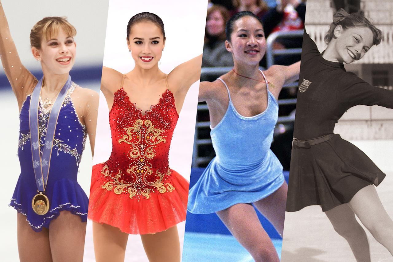 <p>We've tracked down the youngest women to medal in Olympic figure skating and have listed them from youngest to oldest. </p>