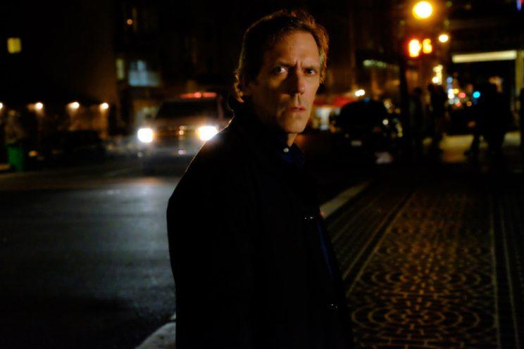 Hugh Laurie as Eldon Chance — Chance, Season 1, Episode 1. Photo: David Moir/Hulu