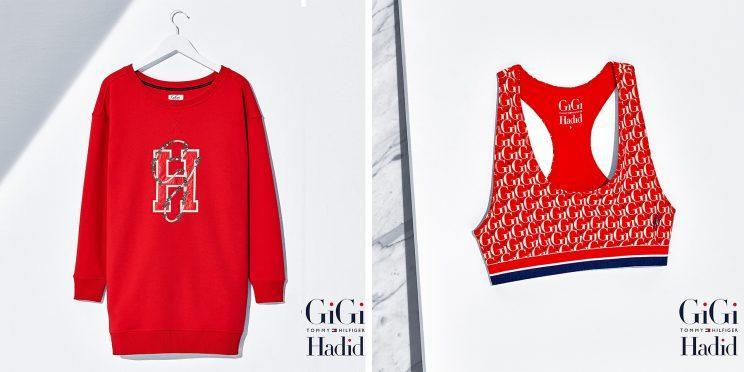 Items from the newest Tommy Hilfiger x Gigi Hadid collection