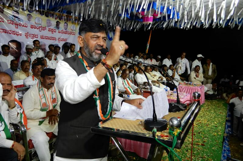 'This Beard I Grew in Jail Reminder of Who Put Me There': Shivakumar Dares BSY on K'taka Bypoll Eve
