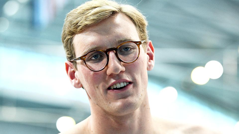 Mack Horton doesn't want his Olympic career to be defined by his feud with Chinese rival Sun Yang. (Photo by SAEED KHAN/AFP via Getty Images)