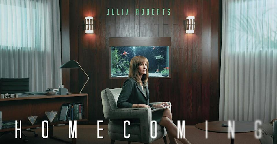Julia Roberts makes her leading television debut in Amazon Prime's Homecoming.