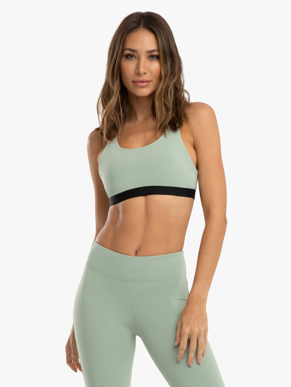 """<h2>Koral</h2><br>Koral's sports bras were the first ones I ever encountered that allowed me to run comfortably without doubling up. They're a little pricier than average, but in my eyes the quality makes the cost worth it.<br><br><strong>Koral</strong> Tax Blackout Sports Bra, $, available at <a href=""""https://go.skimresources.com/?id=30283X879131&url=https%3A%2F%2Fkoral.com%2Fcollections%2Fbras%2Fproducts%2Ftax-blackout-bra"""" rel=""""nofollow noopener"""" target=""""_blank"""" data-ylk=""""slk:Koral"""" class=""""link rapid-noclick-resp"""">Koral</a>"""