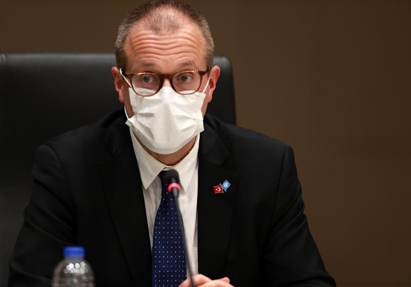 World Health Organization (WHO) Regional Director for Europe Hans Kluge warned today the situation in Europe was as bad as it was at the height of the pandemic. (Getty)