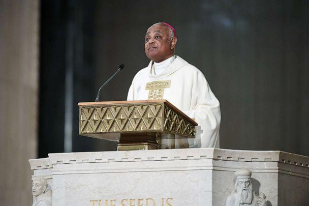 PHOTO: Archbishop Wilton Gregory gives a homily during his installation as the seventh Archbishop of Washington at the Basilica of the National Shrine of the Immaculate Conception on May 21, 2019 in Washington, D.C.  (Matt McClain/The Washington Post via Getty Images, FILE)