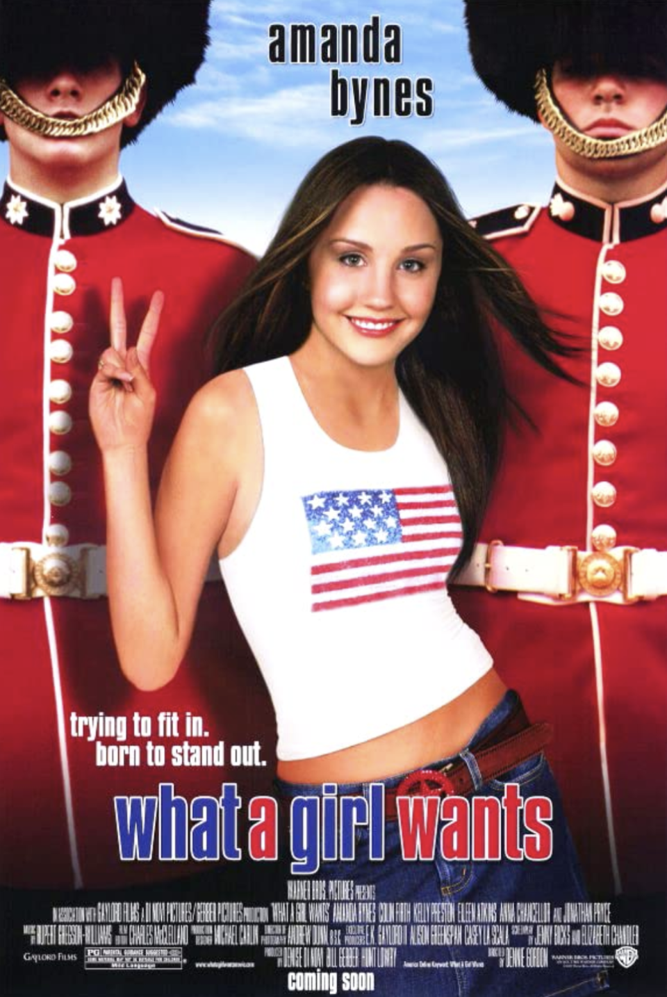 "<p>Amanda Bynes stars in this film as a typical American girl who decides to reconnect with her father — only to find out that he's running for Prime Minister of England. And just as she forges a relationship with her dad, she also finds love with a charming British musician. </p><p><a class=""link rapid-noclick-resp"" href=""https://www.netflix.com/search?q=What+a+Girl+Wants&jbv=60026155"" rel=""nofollow noopener"" target=""_blank"" data-ylk=""slk:STREAM NOW"">STREAM NOW</a></p>"