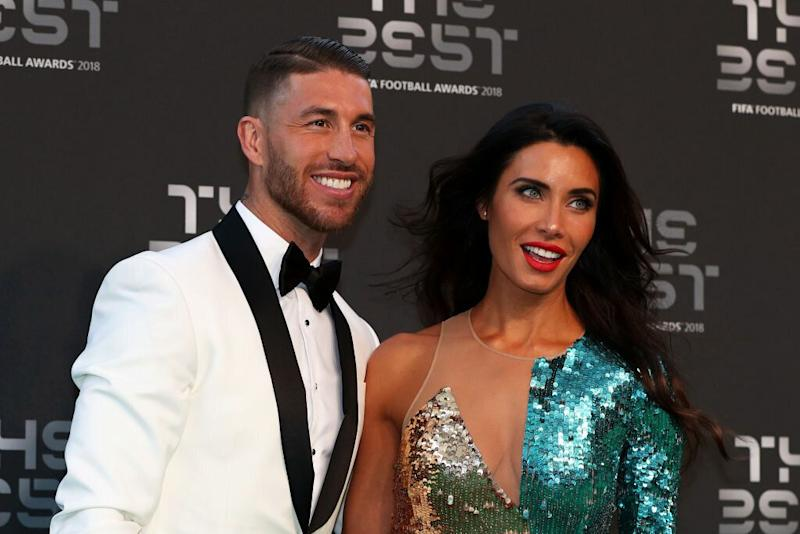Pilar Rubio y Sergio Ramos.  (Photo: GETTY IMAGES)