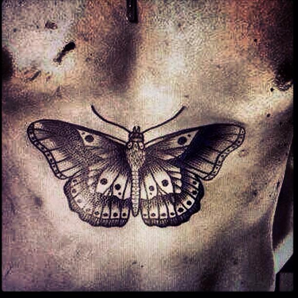 """<p>Harry Styles has a lot of tattoos, but even hardcore One Direction fans hoped this giant butterfly was a joke. It was not though, and it eventually grew on people. Hopefully. </p><p><a rel=""""nofollow"""" href=""""https://www.instagram.com/p/WpKMmnjCTG/?taken-by=harrystyles"""">See the original post on Instagram</a></p>"""