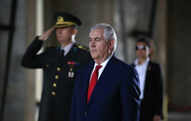 Diplomats instructed to 'avoid eye contact' with Tillerson