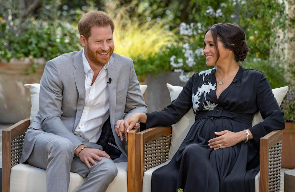 Prince Harry and Duchess Meghan exposed royal friction during an interview with Oprah Winfrey.