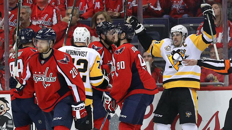 Stanley Cup playoffs three stars Penguins land first punch on Capitals behind Crosby Fleury