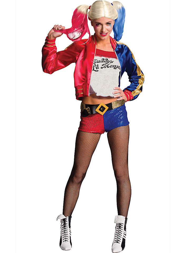 <p>Polyvore's most-searched costume should come as no surprise to anyone: It's the wisecracking, oversexualized, problematic character Harley Quinn. Wear this costume at your own risk — namely, the risk of being the fifth person in satin short shorts at the party. (Photo: Courtesy of Party City) </p>