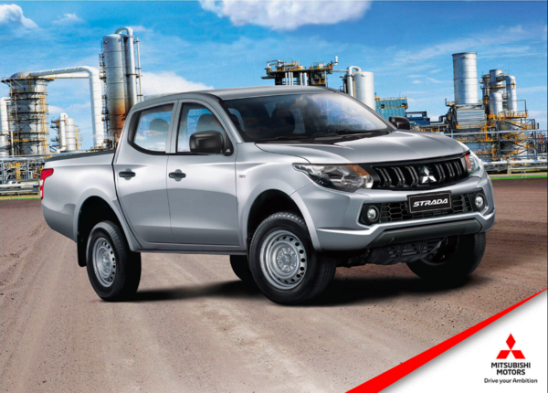 Cheapest Cars in the Philippines Under P1 Million - Mitsubishi Strada