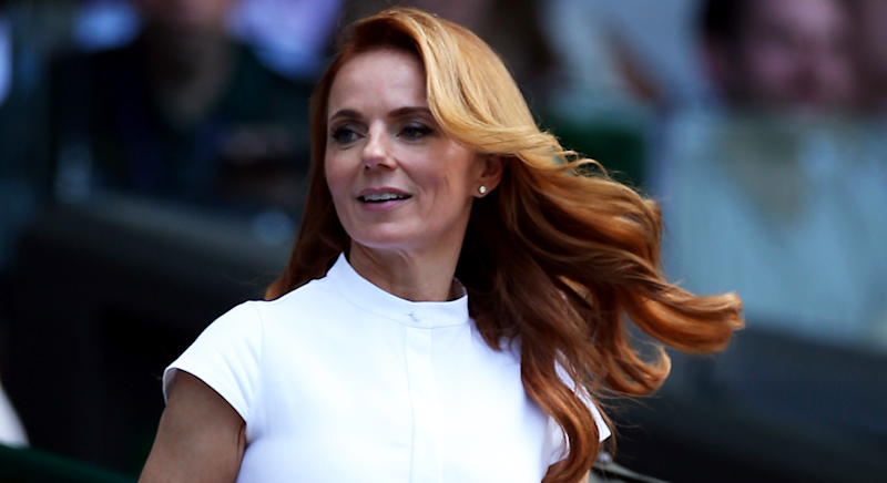 Geri has continued to favour minimal style this summer [Photo: PA]