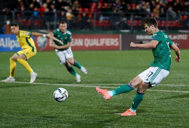 Lithuania Northern Ireland WCup 2022 Soccer