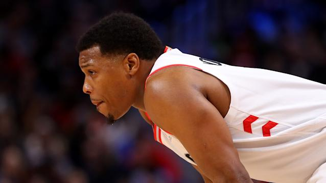 With the Toronto Raptors battling some serious injury troubles, Kyle Lowry stepped up and went off last week. (Getty Images)
