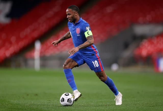 Raheem Sterling will be aiming to maintain his place in Southgate's side despite the emergence of some tough competition.