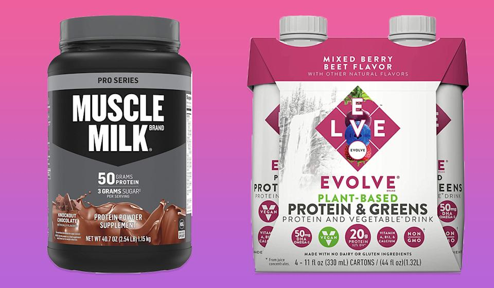 Grab one of these protein powders and shakes on sale. (Photo: Amazon)