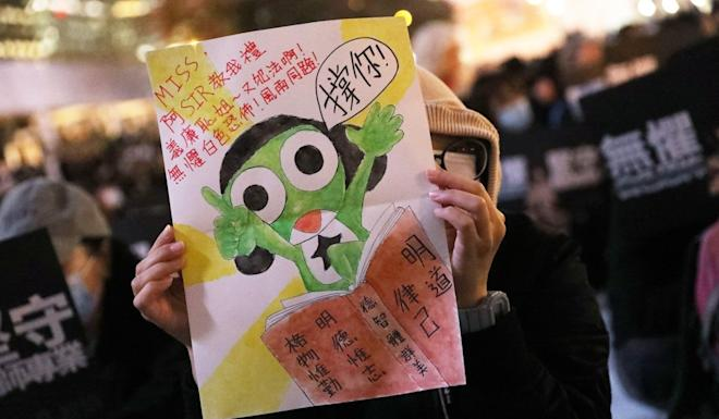 Teachers say the Education Bureau has made them scapegoats. Photo: K.Y. Cheng