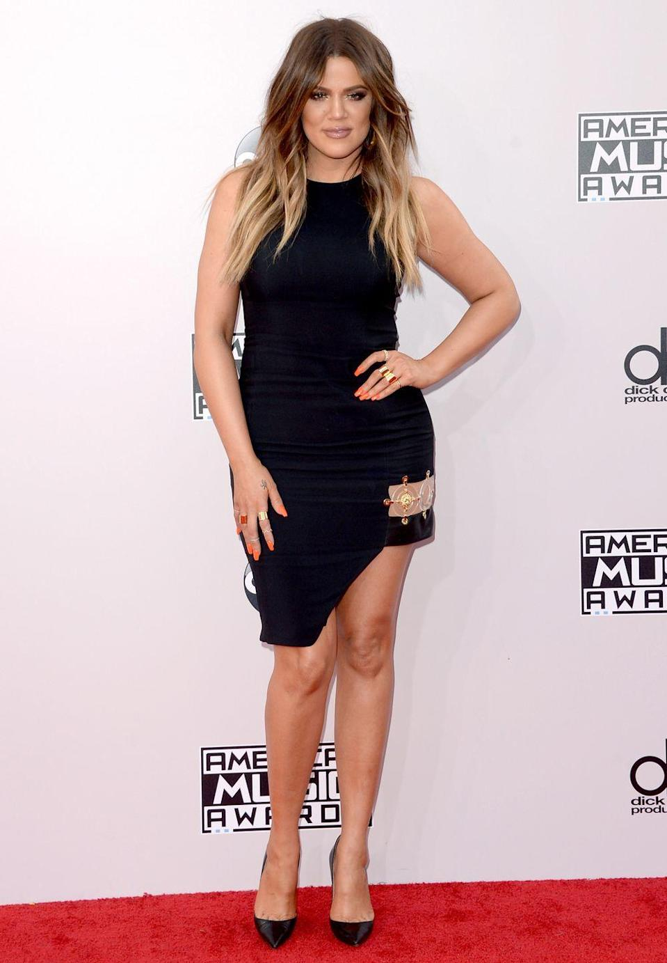 """<p>""""I definitely think the fashion industry, and people in general, look at me more now that I've lost weight,"""" Khloé<span class=""""redactor-invisible-space""""> told <em><a href=""""http://www.harpersbazaar.com/culture/features/a16006/khloe-kardashian-interview/"""" rel=""""nofollow noopener"""" target=""""_blank"""" data-ylk=""""slk:Harper's Bazaar US"""" class=""""link rapid-noclick-resp"""">Harper's Bazaar US</a></em></span>. """"Even on shoots, I would never have options for clothing. There would always be this attention on Kourtney and Kim, but I was too much work for [stylists] or they had nothing in my size. </p><p>""""I wasn't even that crazy big!""""</p>"""