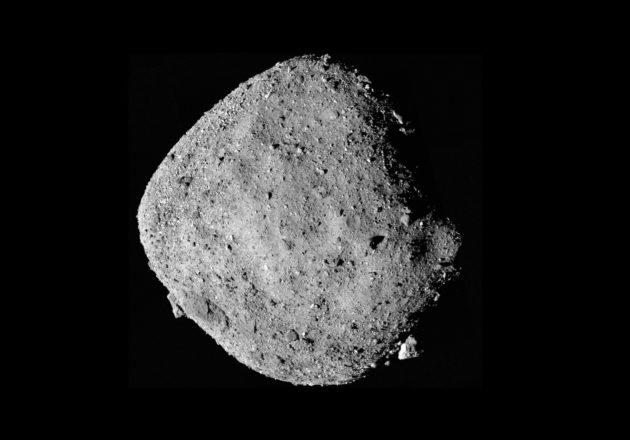 Water locked in asteroid Bennu