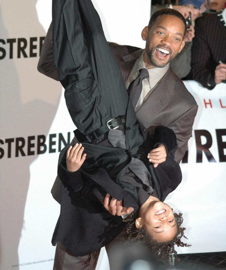 "<strong>Jaden Smith's</strong> first acting project was in 1998 (the same year he was born) when he appeared in dad <strong>Will Smith's</strong> music video for ""Just the Two of Us."" Then, from 2003 to 2006, the younger Smith then had a small role in the TV show <em>All of Us</em> (also co-created by his dad) before starring in <em>The Pursuit of</em> <em>Happyness</em> in 2006 (also alongside his dad). He also starred in <em>The Karate Kid</em> (2010) and <em>After Earth</em> (2013). Both films featured Will Smith."