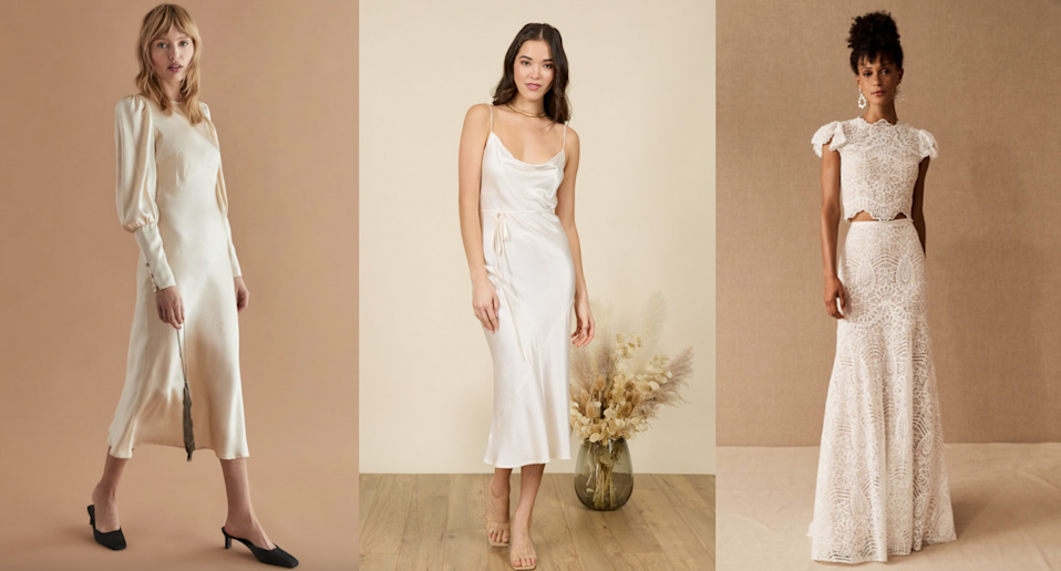 We've rounded up 18 of the prettiest unique bridal gowns for every budget.