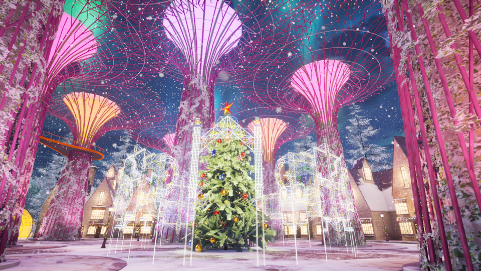 Super Trees. (PHOTO: Christmas Wonderland)