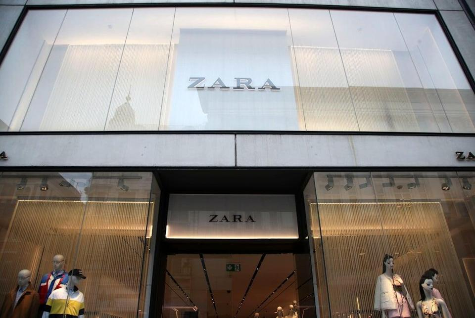 Inditex, owner of fashion chain Zara, has revealed record trading as stores worldwide reopen (Yui Mok/PA) (PA Archive)
