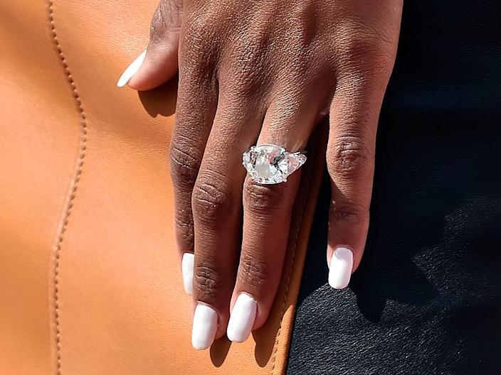 Ciara Flashes Her Huge Engagement During Las Vegas Performance Alongside Fiancé Russell Wilson| Couples, Ciara, Russell Wilson